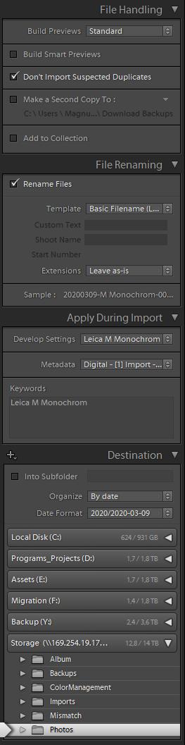 Digital - [1] Import - Leica M Monochrom